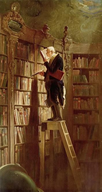 Carl Spitzweg 1850 - Der Bücherwurm