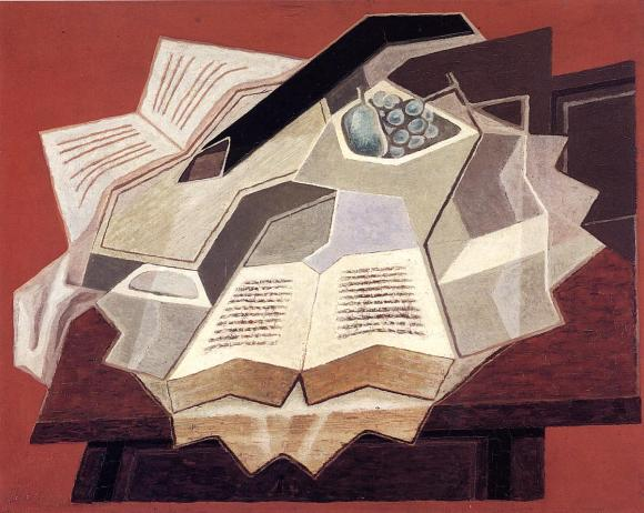Juan Gris 1925 - The Open Book