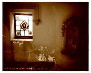 Lugar de meditación en la casa Cordelles (s.XVI-XVII)