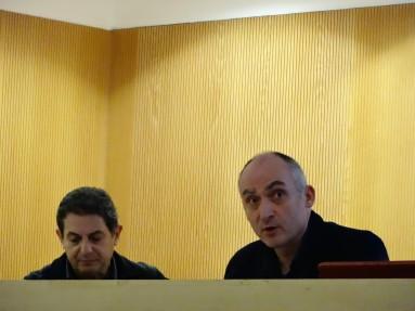 Lluís Mauri y J.M. Esquirol