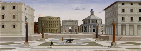 Fra Carnevale 1480-4 La ciudad ideal