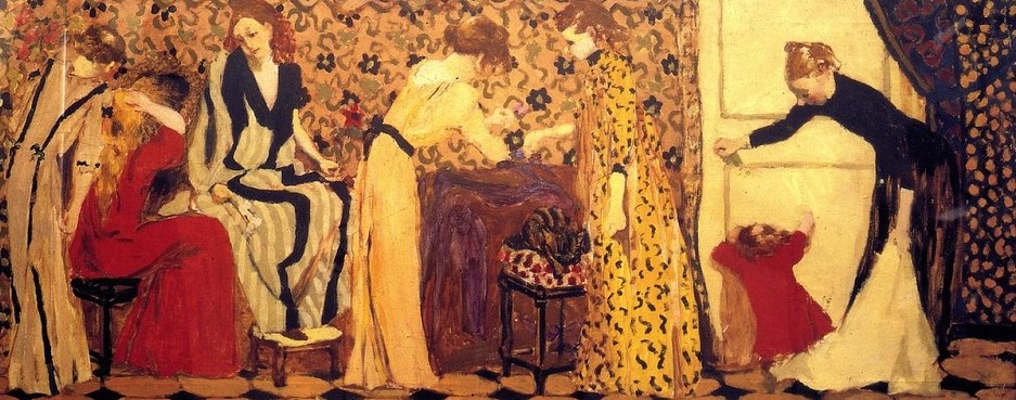 Jean Édouard Vuillard - The Dressmaking Studio II