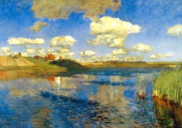 Levitan 1900 - A Sunny Day