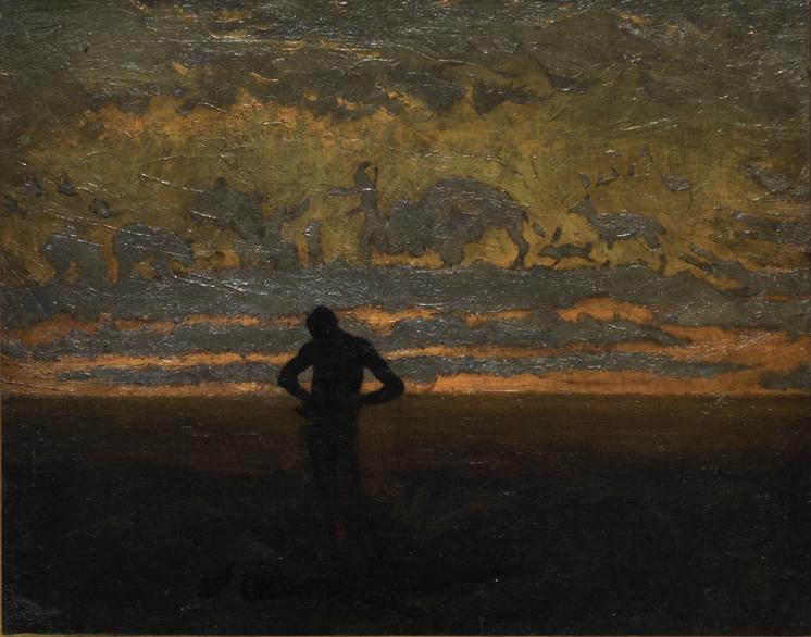 Hiawatha, Thomas Eakins, c. 1874