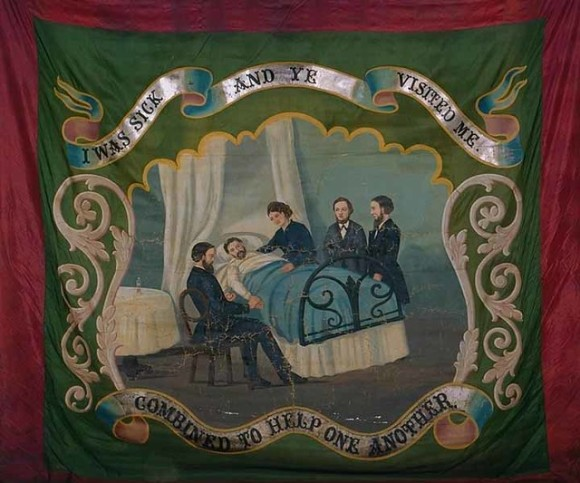 Order of Foresters banner (reverse)