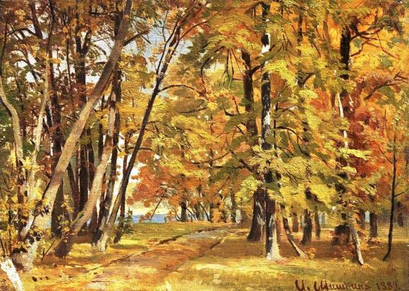 Early Autumn, by Ivan Shishkin 1889